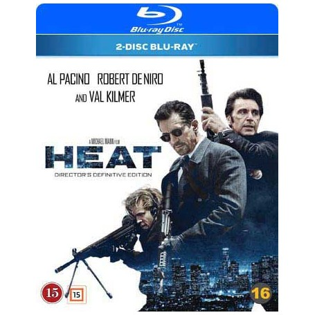 Heat (2 disc) (Remastered) (Blu-ray)