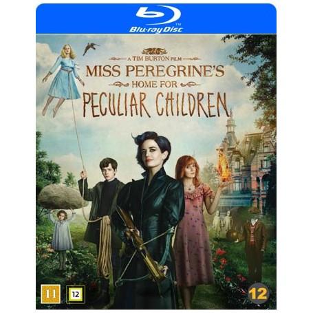 Miss Peregrines hem för besynnerliga barn (Blu-ray)