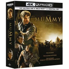 The Mummy Trilogy (4K ultra HD + Blu-ray) (Import svensk text)