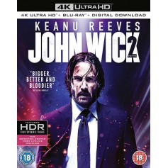 John Wick: Chapter 2 - 4K Ultra HD Blu-ray (Import)