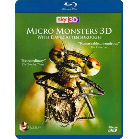 Micro Monsters 3D with David Attenborough (Blu-ray 3D) (Import)