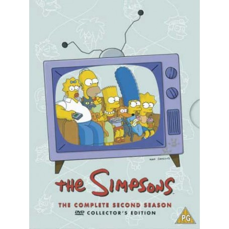 Simpsons - Season 2 (4-disc) (Import svensk textning)