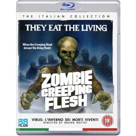 Zombie Creeping Flesh (Uncut) (Blu-ray) (Import)