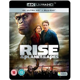 Rise of the planet of the Apes (4K Ultra HD + Blu-ray) (Import)