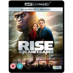 Rise of the planet of the Aped (4K Ultra HD + Blu-ray) (Import)