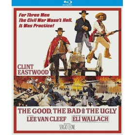 The Good, the Bad and the Ugly (4K transfer 50th Anniversary Special Edition) (Blu-ray)