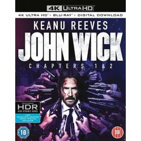 John Wick 1 & 2 - 4K Ultra HD Blu-ray (Import)