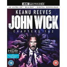 John Wick 1 & 2 - 4K Ultra HD Blu-ray (Import)