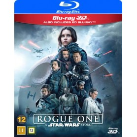 Rogue One: A Star Wars Story (Real 3D + Blu-ray)