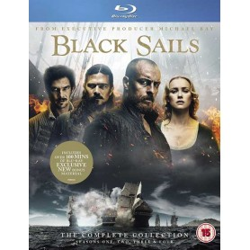 Black Sails: The Complete Collection (Seasons 1-4) (Blu-ray) (Import)