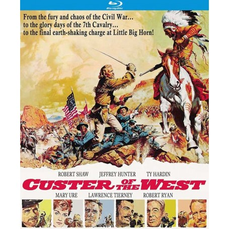 Custer of the West (Blu-ray) (Import)