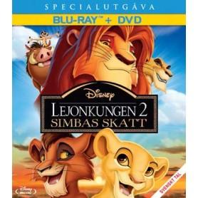 Lejonkungen 2 - Simbas skatt (Blu-ray + DVD)