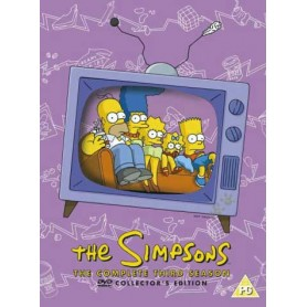 Simpsons - Season 3 (4-disc) (Import svensk textning)