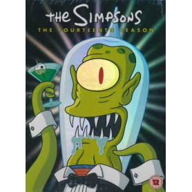 Simpsons - Season 14 (4-disc) (Import svensk text)