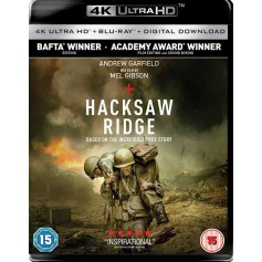 Hacksaw ridge - 4K Ultra HD Blu-ray + Blu-ray (Import)
