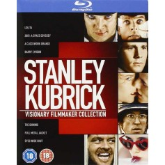 Stanley Kubrick: Visionary Filmmaker Collection (Blu-ray) (Import svensk text)