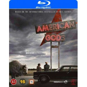 American Gods - Säsong 1 (Blu-ray)