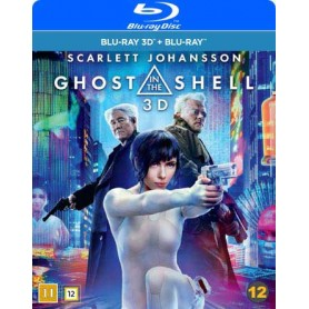 Ghost In the Shell (2017) (Real 3D + Blu-ray)