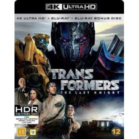 Transformers 5 - Last Knight (4K Ultra HD Blu-ray) (3-disc)