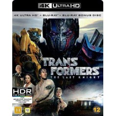 Transformers 5 - Last Knight (4K Ultra HD Blu-ray) (3-disc)