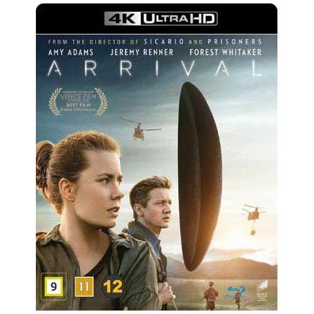 Arrival (4K Ultra HD Blu-ray)