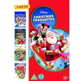 Disney Christmas Favourites Box (4 DVD) (Import)
