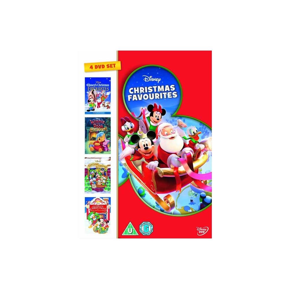 Disney Christmas Favorites Box (4 DVD) (Import) c1194908b22b4