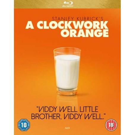 A Clockwork Orange (Slip-case) (Blu-ray) (Import sv.text)