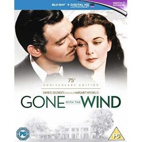 Borta med vinden - 75th Anniversary Edition (Slip-case) (Blu-ray) (Import Sv.text)