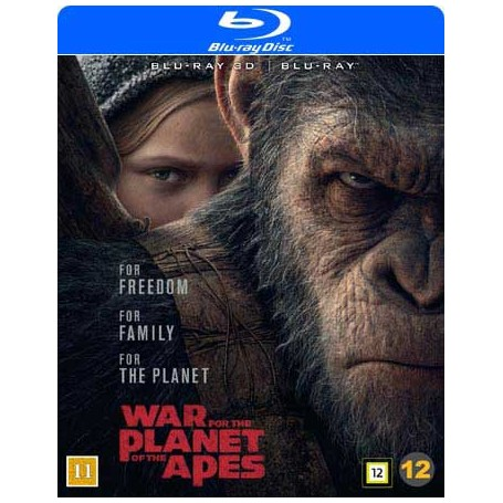 War for the Planet of the Apes (Real 3D + Blu-ray)