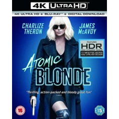 Atomic Blonde - 4K Ultra HD Blu-ray + Blu-ray (Import)