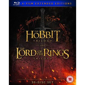Hobbit and Lord of the Ring: Extended Edition (Blu-ray) (30-disc) (Import)