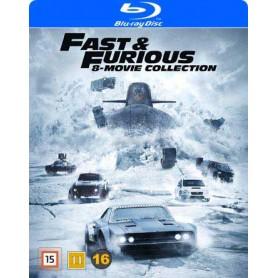 Fast & Furious 1-8 (Blu-ray)