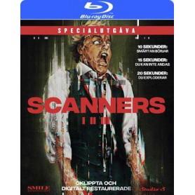 Scanners 1-3 (Oklippt/digitalt restaurerad specialutgåva) (Blu-ray)