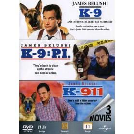 K-9 / K-911 / K-9:P.I. (3-disc)