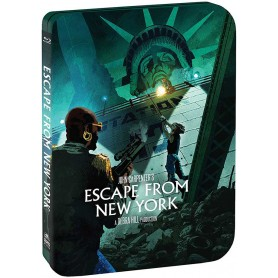 Escape From New York (Limited Edition Steelbook) (Blu-ray) (Import)