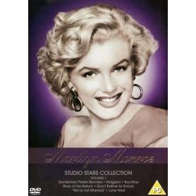Marilyn Monroe: Studio Stars Collection (7 film) (Import sv.text)