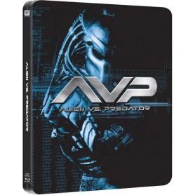 Alien Vs. Predator - (Ltd Steelbook) (Blu-ray) (Import svensk text)