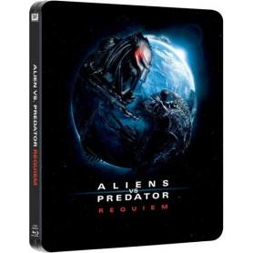 Aliens vs. Predator 2: Requiem - (Ltd Steelbook) (Blu-ray) (Import svensk text)