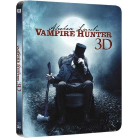 Abraham Lincoln Vampire Hunter 3D (Includes 2D) (Ltd Steelbook) (Blu-ray) (Import svensk text)