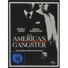 American Gangster - (Ltd Steelbook) (Blu-ray) (Import svensk text)