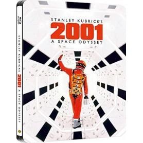 2001: A Space Odyssey (Ltd Steelbook) (Blu-ray) (Import svensk text)