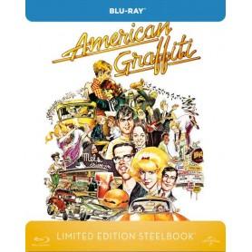 American Graffiti (Ltd Zavvi Steelbook) (Blu-ray) (Import svensk text)
