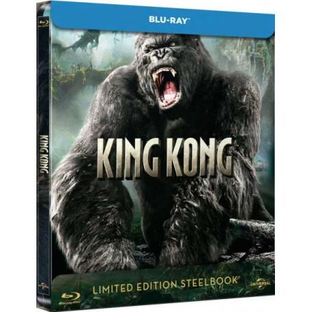 King Kong 2005 Ltd Zavvi Steelbook Blu Ray Import Swedish Text