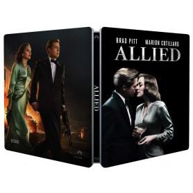 Allied (Ltd Steelbook) (Blu-ray) (Import svensk text)