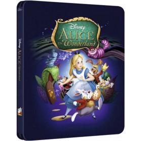 Alice in Wonderland (Ltd Zavvi Steelbook) (Blu-ray) (Import)