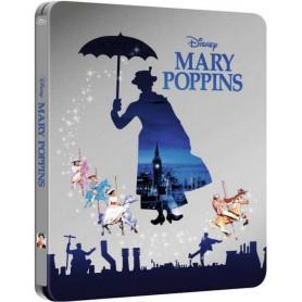 Mary Poppins (Ltd Zavvi Steelbook) (Blu-ray) (Import)