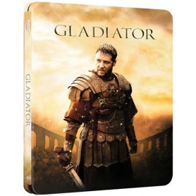 Gladiator (Ltd Zavvi Steelbook) (4K UHD + Blu-ray) (Import svensk titel)