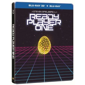 Ready Player One (Ltd Steelbook) (3D + Blu-ray)