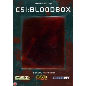 C.S.I - New York - Miami- Las Vegas (Bloodbox) (Ltd Steelbook) (DVD)